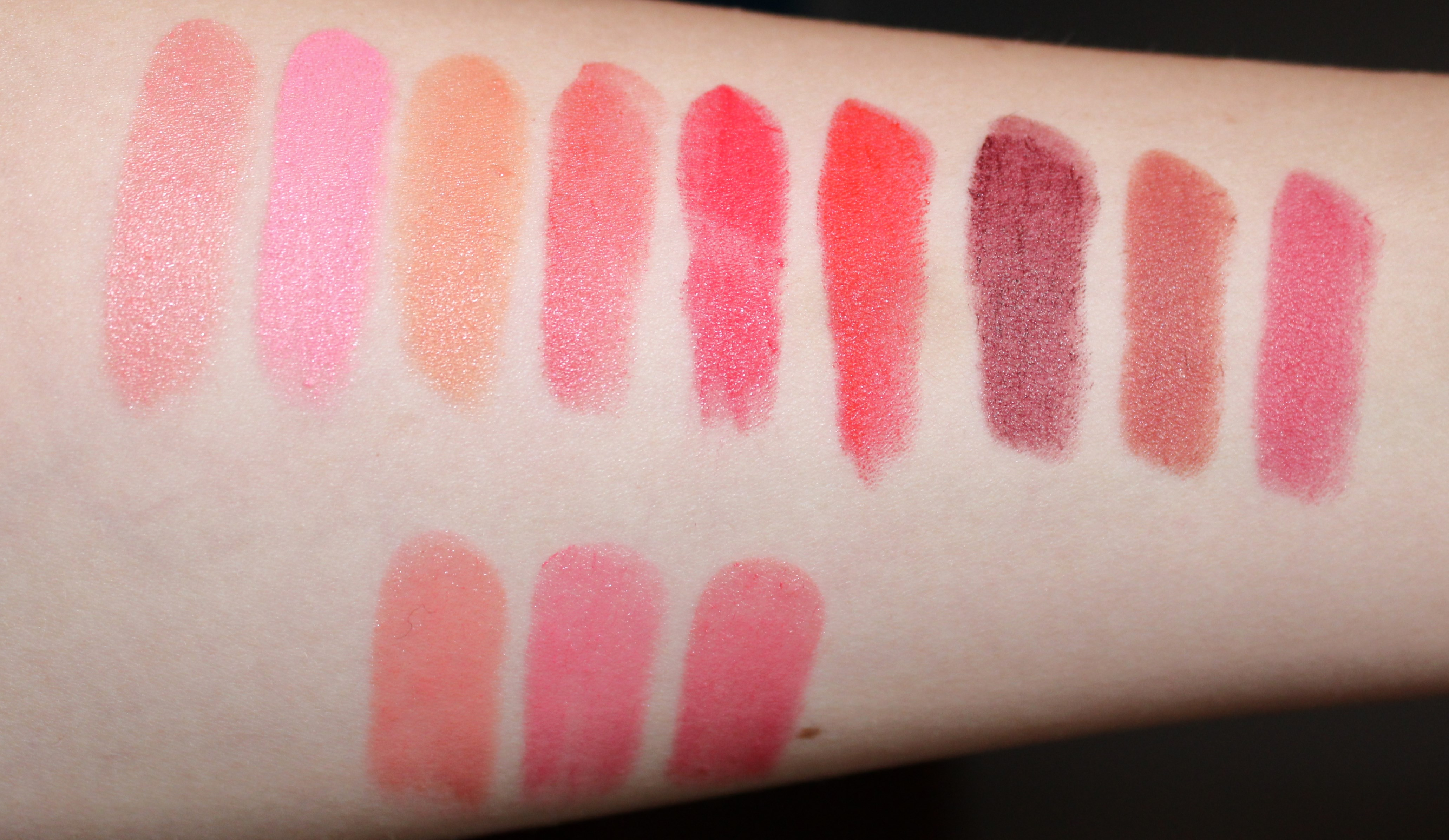 Swatches miss pupa making make up for Rossetti vernici e idee