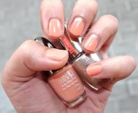 Lasting Color Gel 116 Funny Apricot (nuovi colori estate 2015) - PUPA; Lasting Color 829 Precious Sunset (collezione Coral Island estate 2015) - PUPA