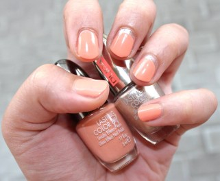 Lasting Color Gel 116 Funny Apricot (nuovi colori estate 2015) - PUPA; Lasting Color 829 Precious Sunset (collezione Coral Island estate 2015) - PUPA