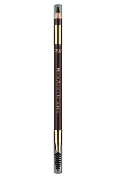 L'Oréal Paris  Brow Artist Designer: pettine separatore da una parte e matita dall'altra per delineare, perfezionare e uniformare il colore delle sopracciglia (€ 11,80).