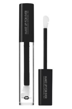 Make Up For Ever  Artist Plexi-Gloss, 0: grazie alle sfere microscopiche Prizmalite, spezza i codici della brillantezza. La luce è moltiplicata conferendo un effetto specchio alle labbra. I pigmenti e le madreperle acquistano una dimensione nuova, più scintillante che mai (23,90 euro).