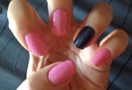 Nail Polish 134 Starfish - MISSLYN; Denim Jeans Nail Polish 002 Dark Blue - PUPA