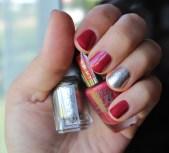 Lasting Color Gel 015 Tropical Escape – PUPA; Nail Polish Jiggle Hi, Jiggle Low – ESSIE