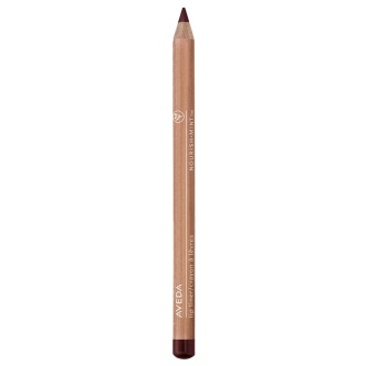 Aveda  Una matita labbra creata per dare forma e definizione alle labbra senza sbavature, è composta da cere vegetali e gelatina di frutta, per un'idratazione a lunga durata.
