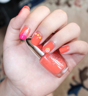JUICY FRUITS Nail Art Kit 003 Orange Fruits – PUPA