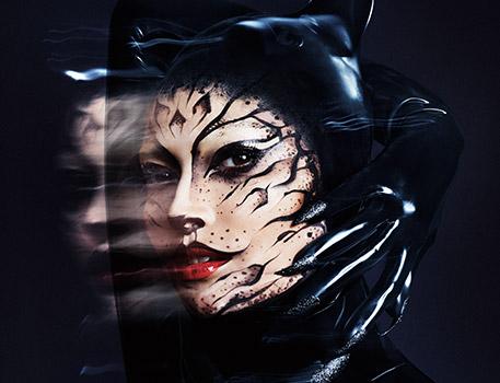 Vivi una serata stregata con il make-up Black Cat, il look di Halloween creato da Tu Dang in esclusiva per M∙A∙C.