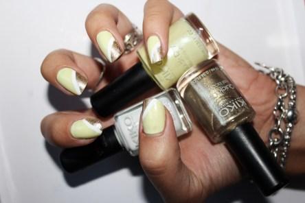 Nail Laquer Quick Dry 853 Giallo chiaro perlato - KIKO Nail Laquer Quick Dry 859 Oro metallico - KIKO Nail Laquer French Manicure - KIKO