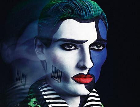 Reinventa il tuo stile con il make-up Pop Art, il look creato da Lyle Reimer in esclusiva per M∙A∙C.